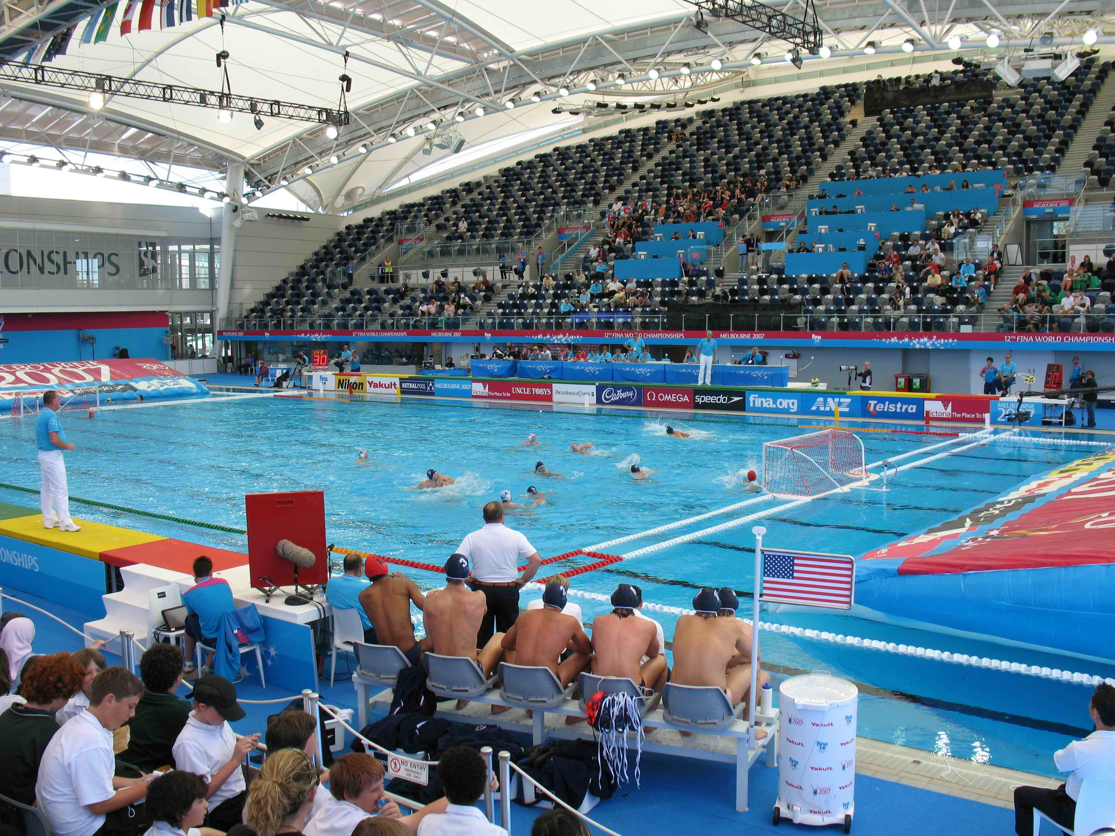 Competition FINA Waterpolo Venue, Anti Wave Complete Polo Field
