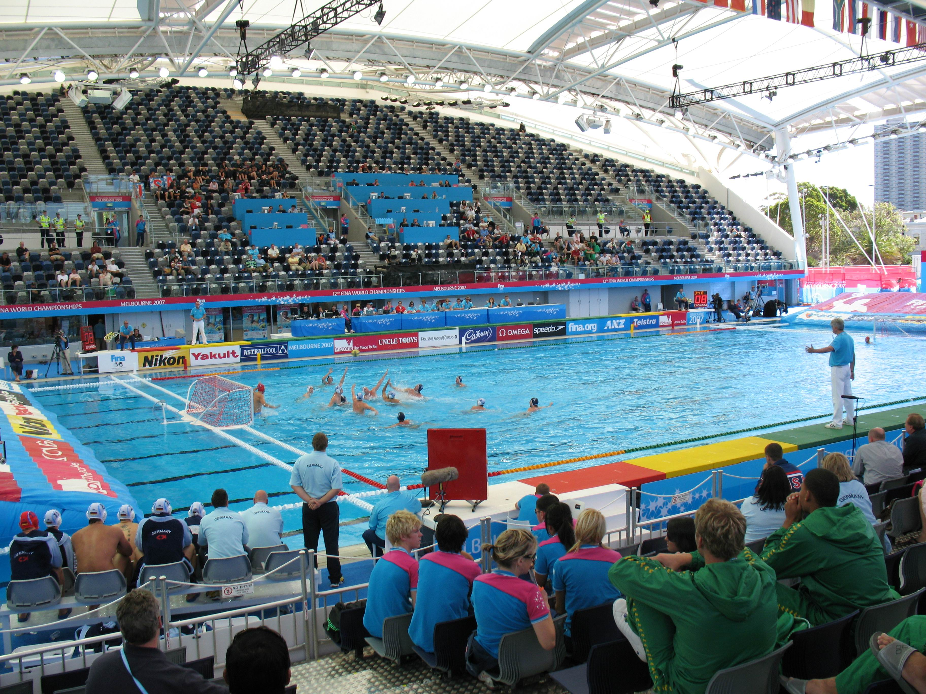 FINA Competition Waterpolo facility, Anti Wave Complete Polo Field